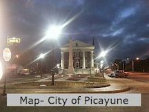 Picayune City Map