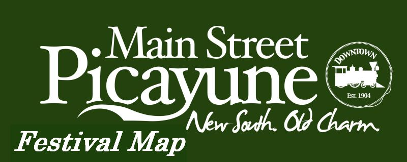 Picayune Festival Map