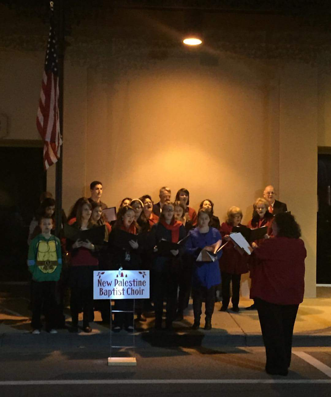 New Palestine Baptist Choir