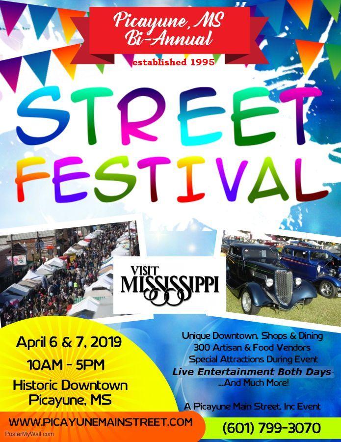 2019 Spring Street Festival Flyer